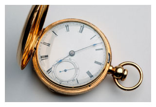 antique watch from iStockphoto